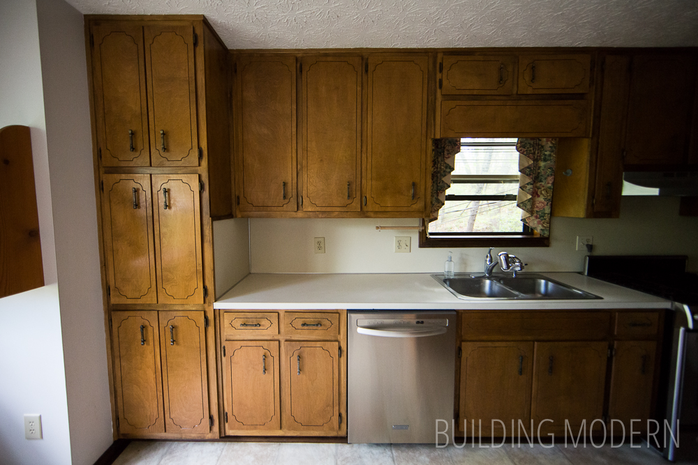Building Modern A Modern DIY Renovation Blog - Old cabinets