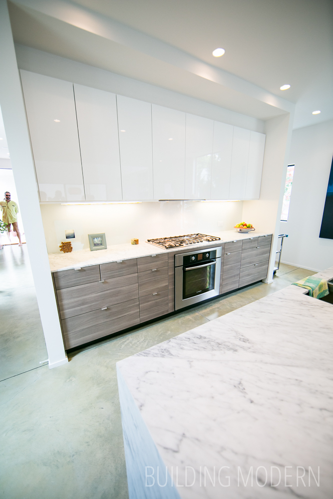 Modern atlanta home tour 2014 184 pearl for Ikea kitchen modern white