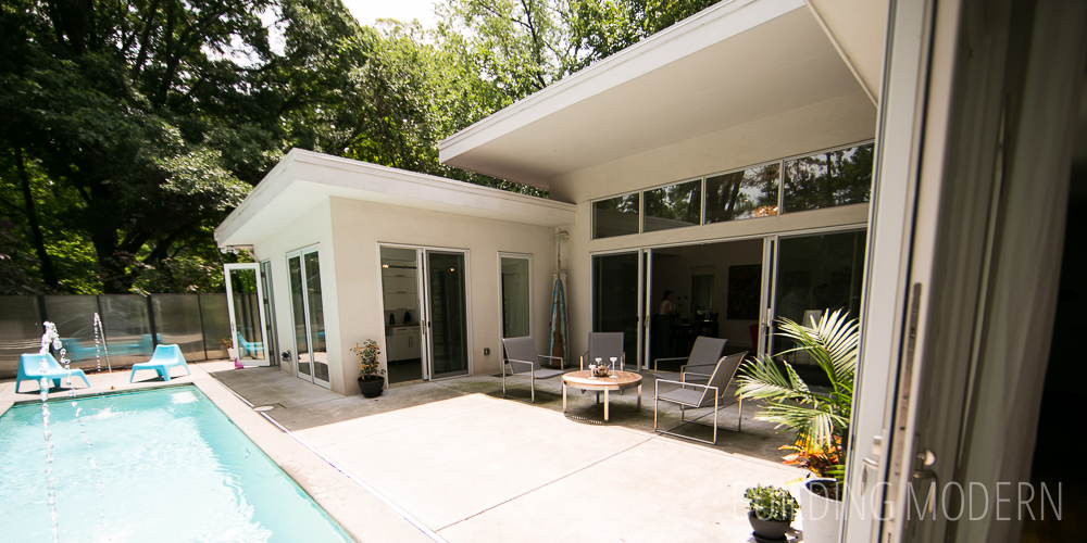 Modern atlanta home tour 2014 custer house Modern houses in atlanta