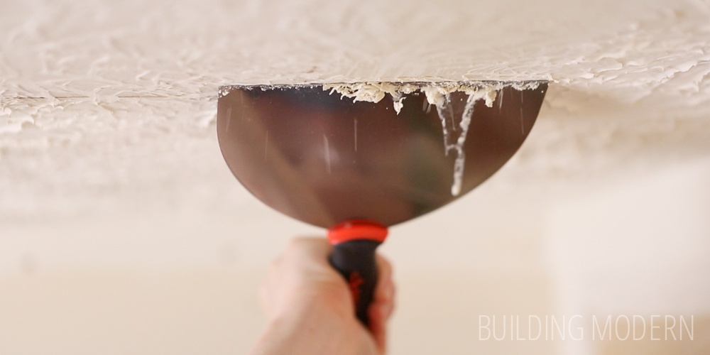 Stomped Ceiling Texture Removal: The Video!