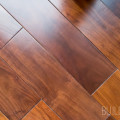 Three quarter inch thick five inch wide black American walnut solid wood flooring