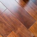 Three quarter inch thick five inch wide black American walnut solid wood flooring