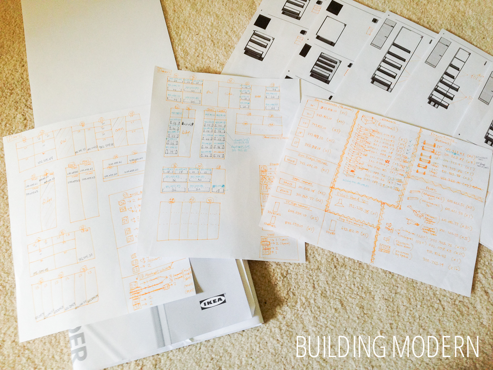 Ikea Kitchen Cabinet Order Organization