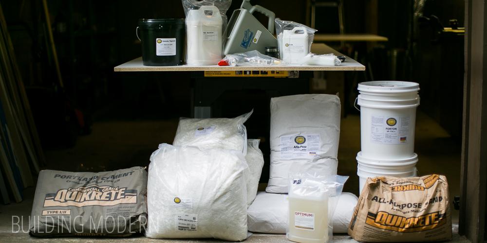 Kitchen: diy concrete countertops – materials & tools needed