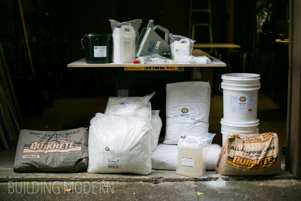 Kitchen Diy Concrete Countertops Materials Amp Tools Needed