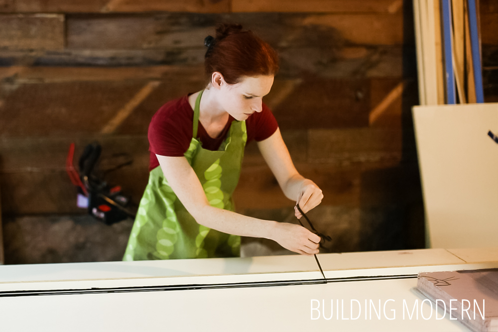 How to make concrete countertop forms