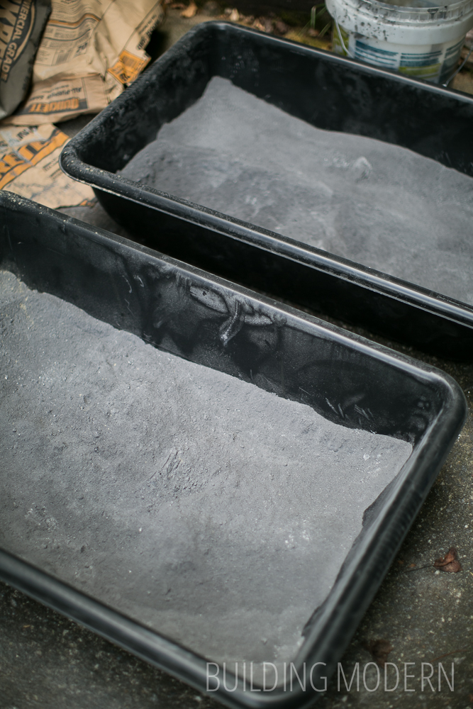 Kitchen Diy Concrete Countertops The First Stage Of