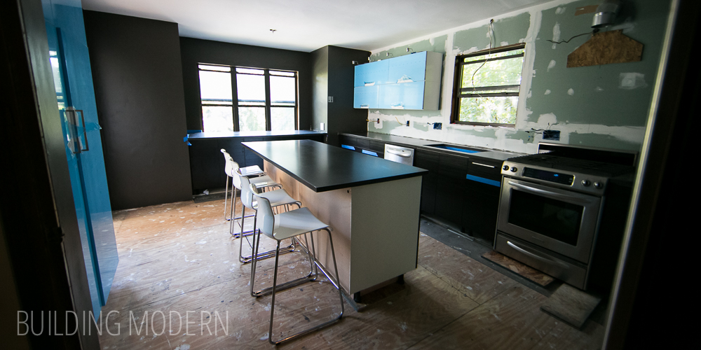 Kitchen: DIY concrete countertops – reveal