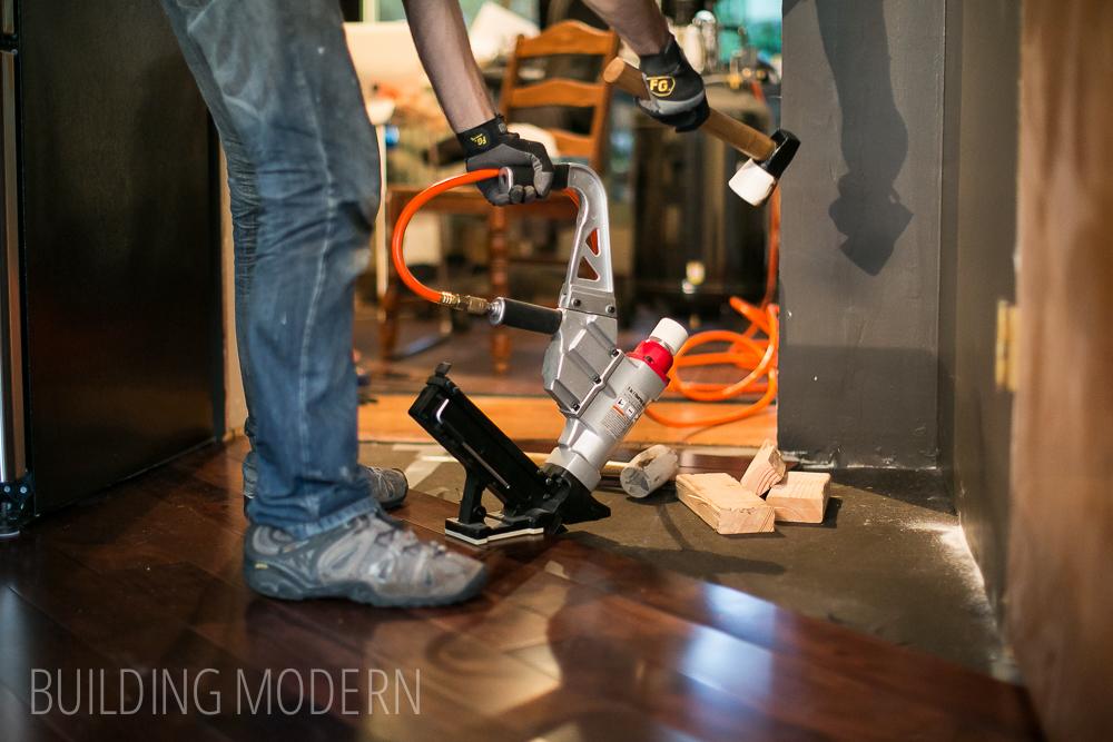 diy prefinished hardwood floor installation