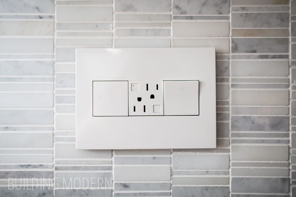 Legrand Adorne wireless master touch switch paddle switch and outlet