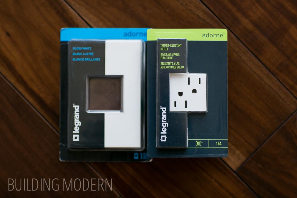 Legrand 15 amp tamper resistant outlet