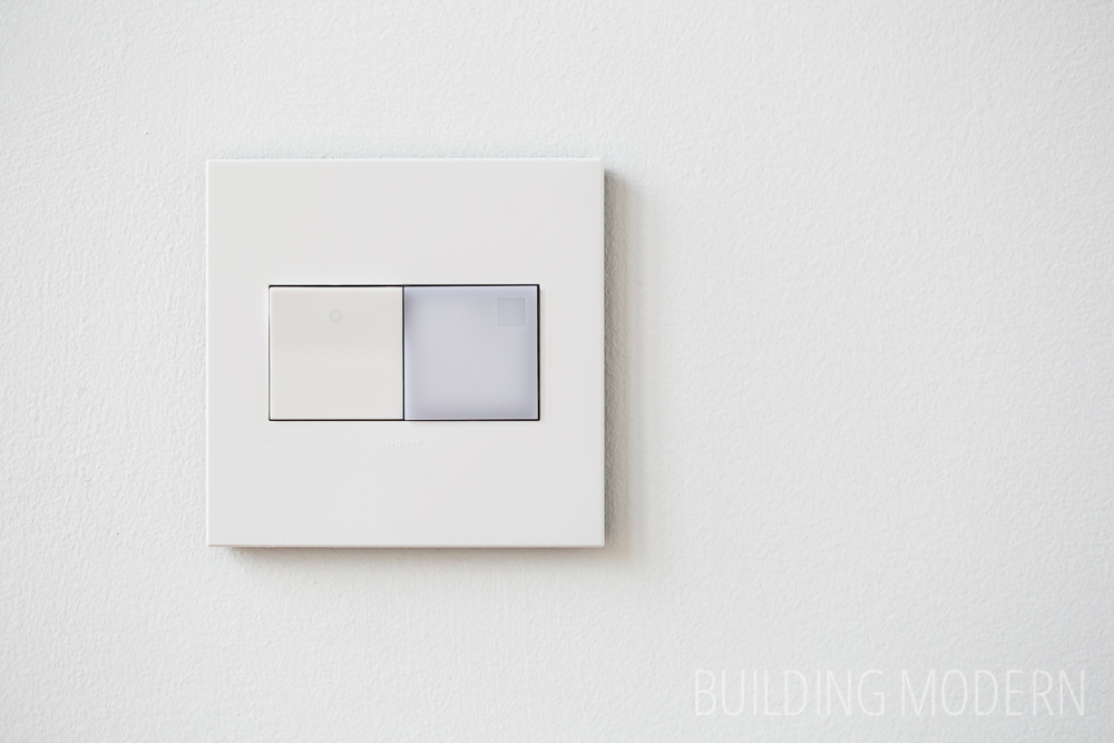 Legrand switch and nightlight