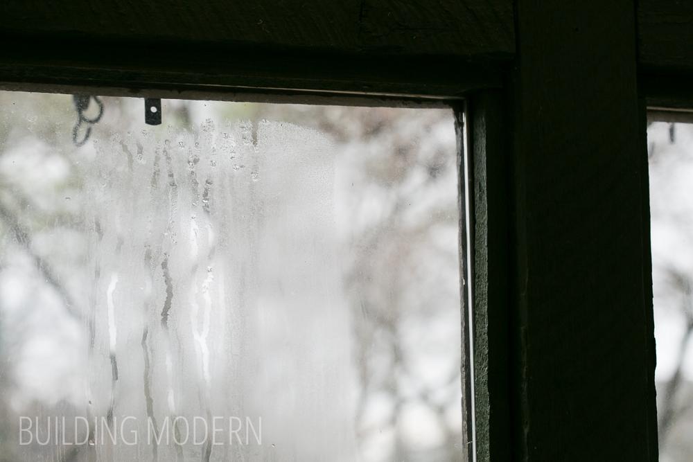 broken window seal