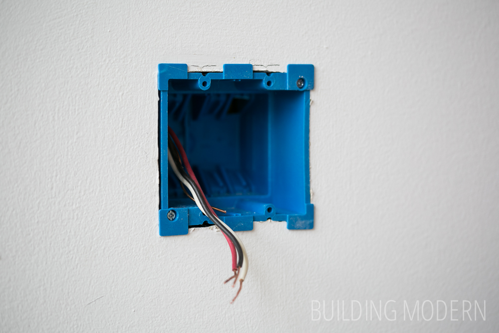 old work pvc outlet box