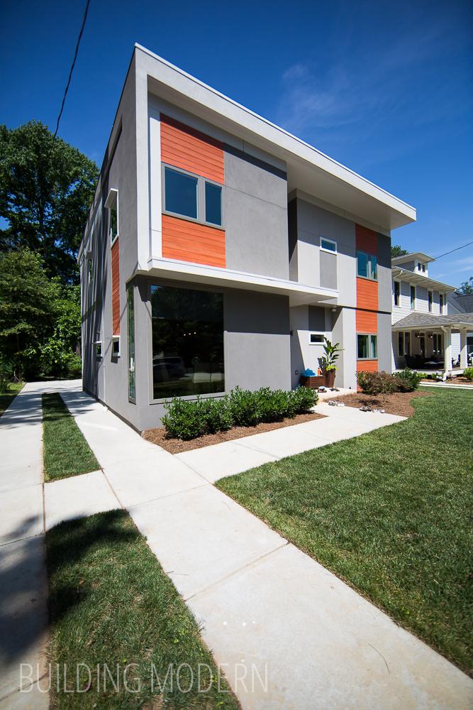 Modern atlanta home tour 2015 gaisie residence for Contemporary homes atlanta