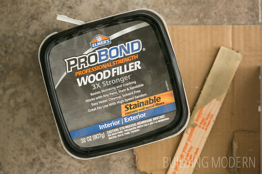 Elmer's stainable wood filler