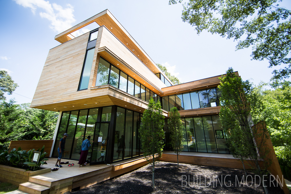 Modern atlanta home tour 2015 olympic residence Contemporary homes atlanta