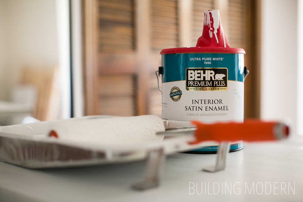 Painting with Behr Interior Premium Plus