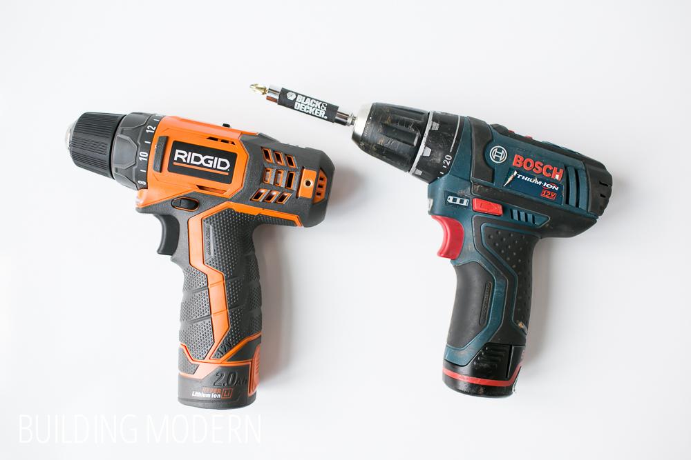 Ridgid versus Bosch 12 volt drill driver