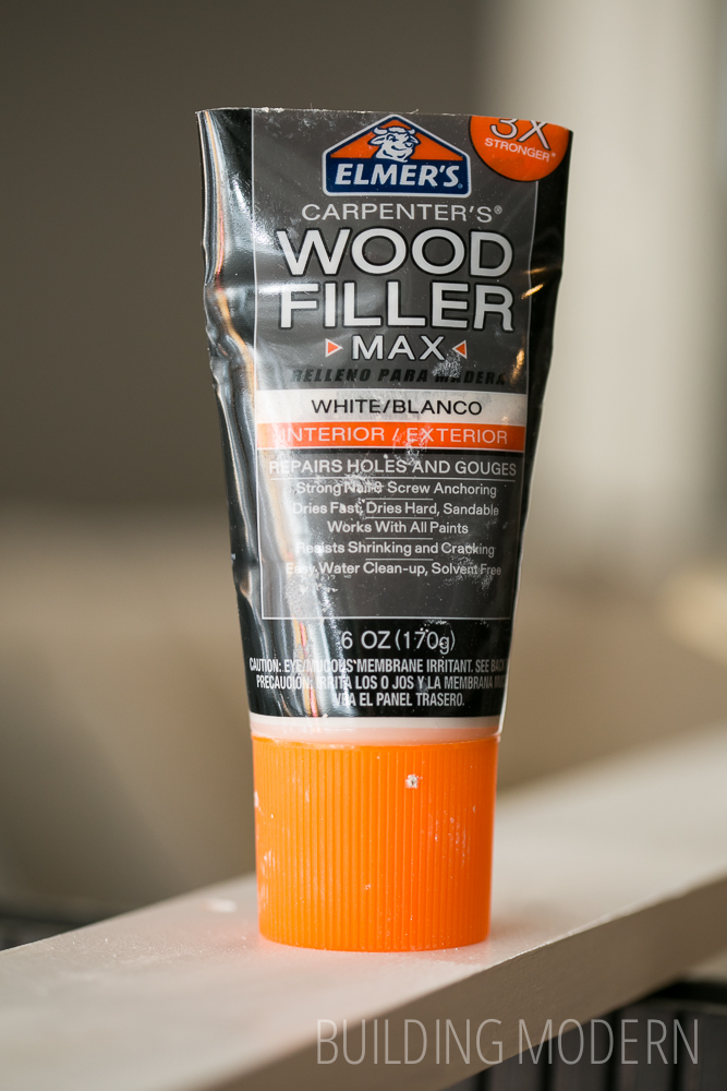 Elmers white wood filler