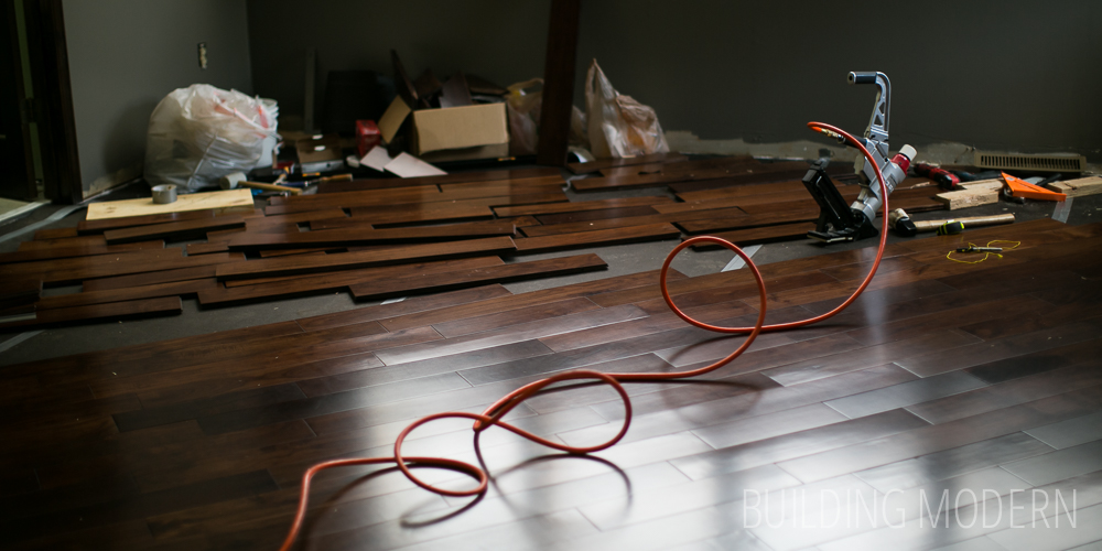 What we've learned from installing our hardwood floors