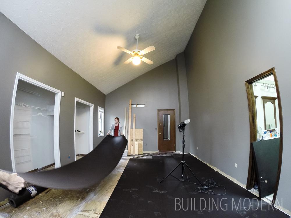 hardwood floor diy