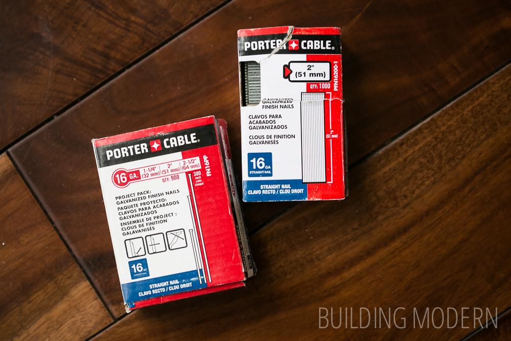 porter cable nail gun nails