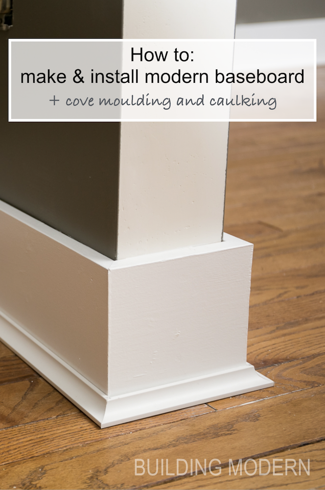 Installing Baseboards Cove Moulding Amp Caulking