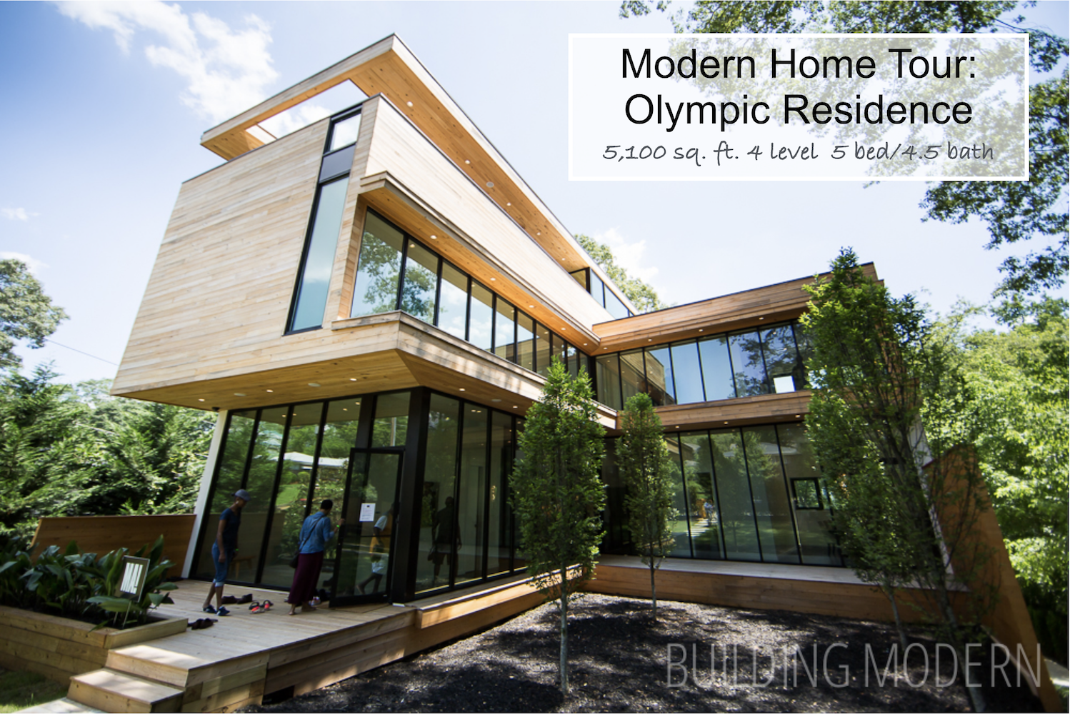 Modern Home Tour Olympic