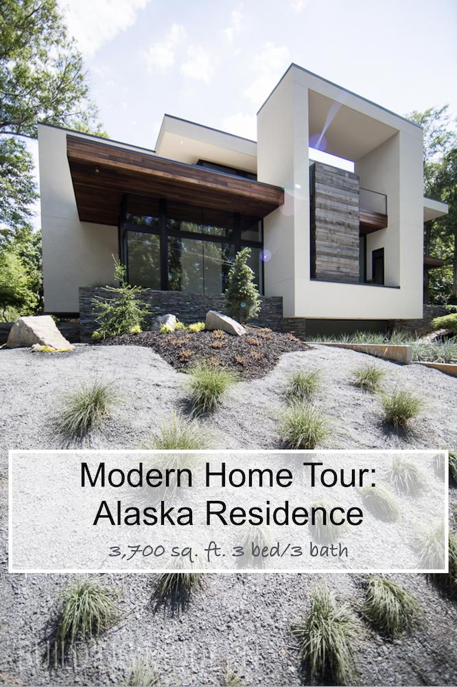 Modern Home Tour Alaska