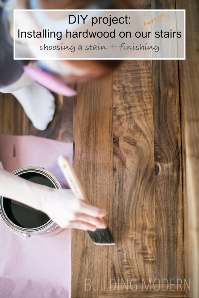 diy refinishing hardwood stairs choosing stain and finishing