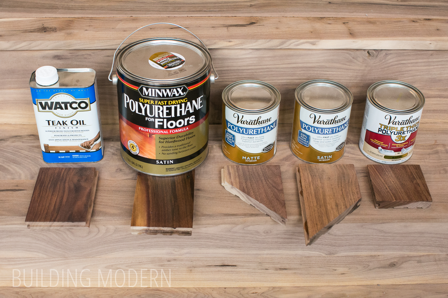 Minwax super fast drying polyurethane - Hardwood Polyurethane Comparison