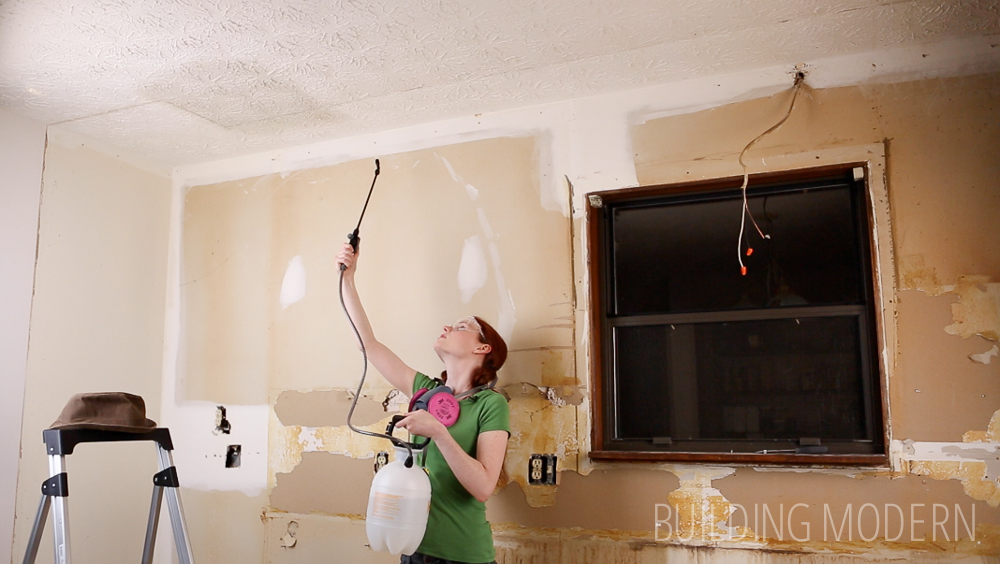 Do It Yourself Ceiling Texture Removal
