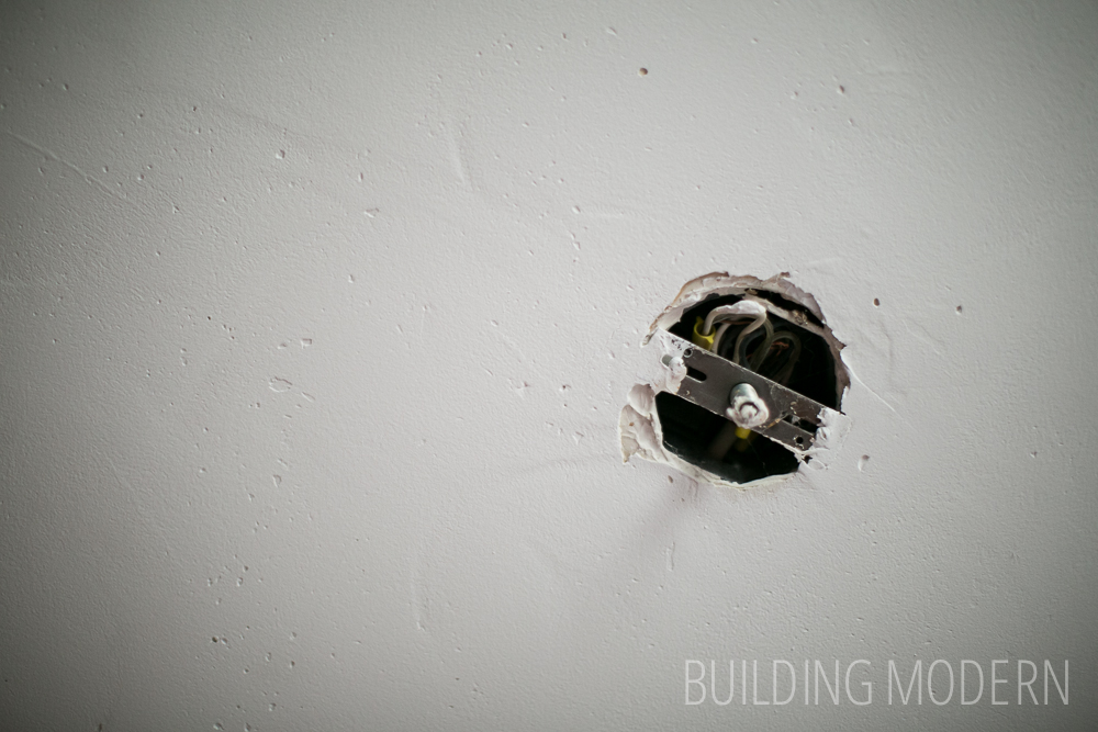 Skim Coating A Textured Ceiling Second Coat Of Drywall Mud
