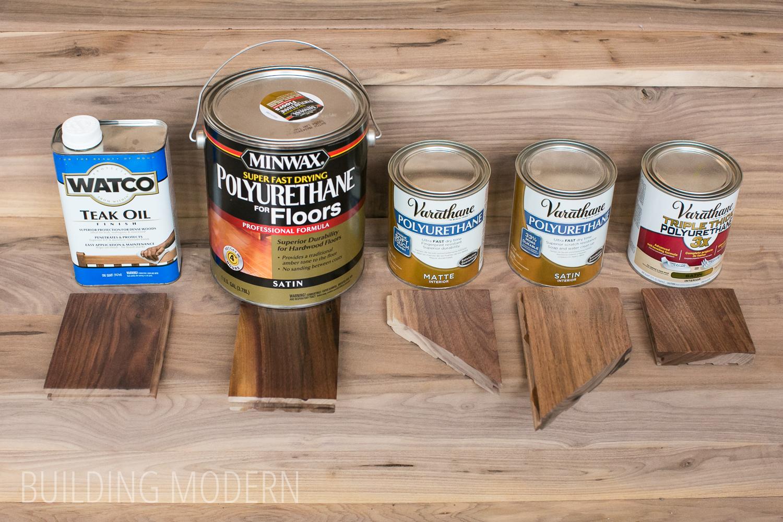 Hardwood Polyurethane Comparison